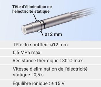 Lioobo Porte-cl/és antistatique /à haute tension anti-statique pour corps humain statique de voiture jaune anti-statique