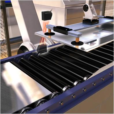 Detection of double fed sheet metal